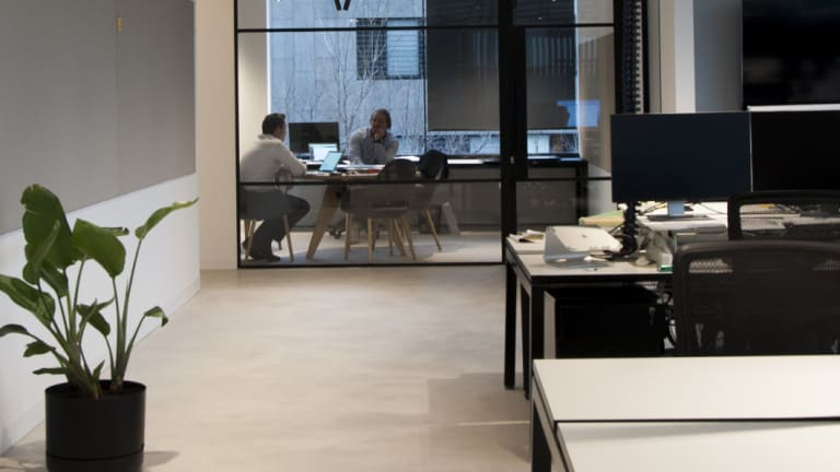 Ewert Leaf's new office fit-out at 49-51 Stead Street, South Melbourne
