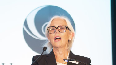 Healthscope chair Paula Dwyer. Her board and Brookfield Asset Management have found a way to circumvent BGH Capital's arrangements with AustralianSuper.