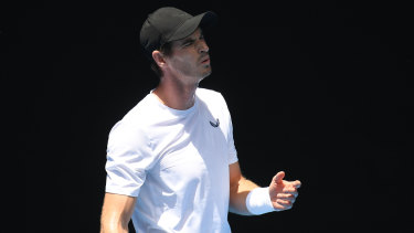 Contemplation: Andy Murray knows he will need time to adjust whenever his tennis career comes to an end.