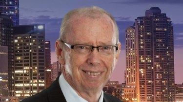 Radio station 4BC real estate expert Kevin Turner.