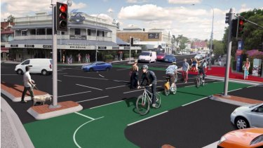 Designs for the Woolloongabba bikeway have been released by the council