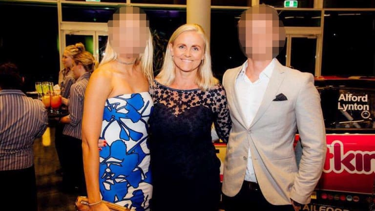 Fairfax Media reported that RFG had not told shareholders about a deal between itself and a company run by Alicia Atkinson (centre).