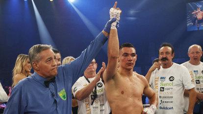 'Where do I sign?': Former world champ ready to fight Tszyu in Australia
