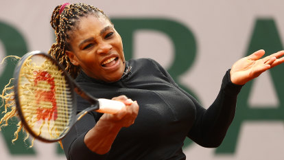 'A runaway train': Serena Williams wins opener in Paris