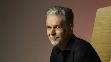 """Netflix co-CEO Reed Hastings: """"It's just a little wobbly right now"""""""