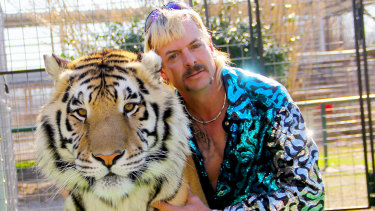 Joe Exotic, the star of the Netflix series Tiger King, was a surprise inclusion in Australia's most-googled names.