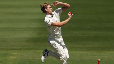 All-rounder Cameron Green was in form with bat and ball for Australia A.
