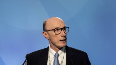 ANZ chair Paul O'Sullivan said the bank will review its dividend policy next year.
