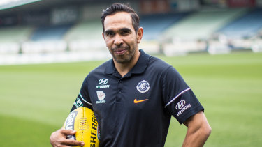 Eddie Betts is one of several AFL players away from their expectant partners for an extended period in 2020.
