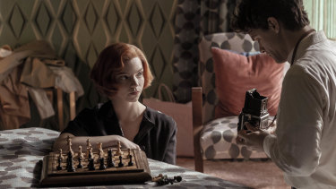 Anya Taylor-Joy played chess prodigy Beth Harmon in the Netflix hit, 'The Queen's Gambit'.