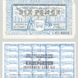 Georg Teltscher, 'Six Pence note', Internment Camp Currency note design, March 1941, Jewish Museum, Melbourne.