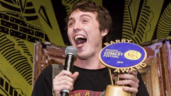 Young comic wins Melbourne comedy festival's prestigious Barry Award