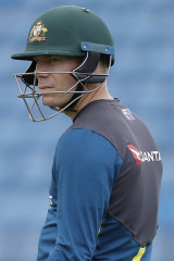 Razor sharp: A clean-shaven Dave Warner is hoping to turn over a new leaf in the third Test.