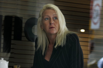 Nicola Gobbo in April 2008, the morning after her car was torched.