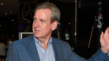 Former premier Barry O'Farrell was also at the launch.
