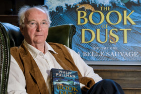 Philip Pullman chases memories of Australia in new book