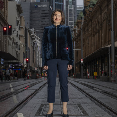 NSW Premier Gladys Berejiklian (pictured) joined Victorian counterpart Dan Andrews in imposing stronger restrictions than had been discussed at national cabinet, ending a unified response.