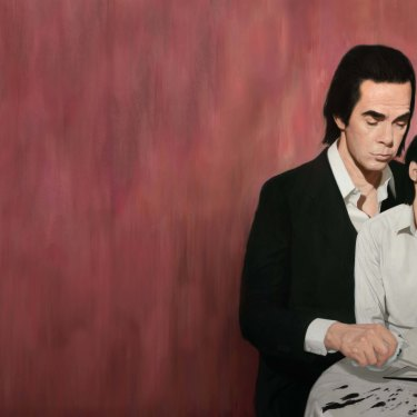 Ink and Solace, a painting of Nick Cave by Ben Smith.