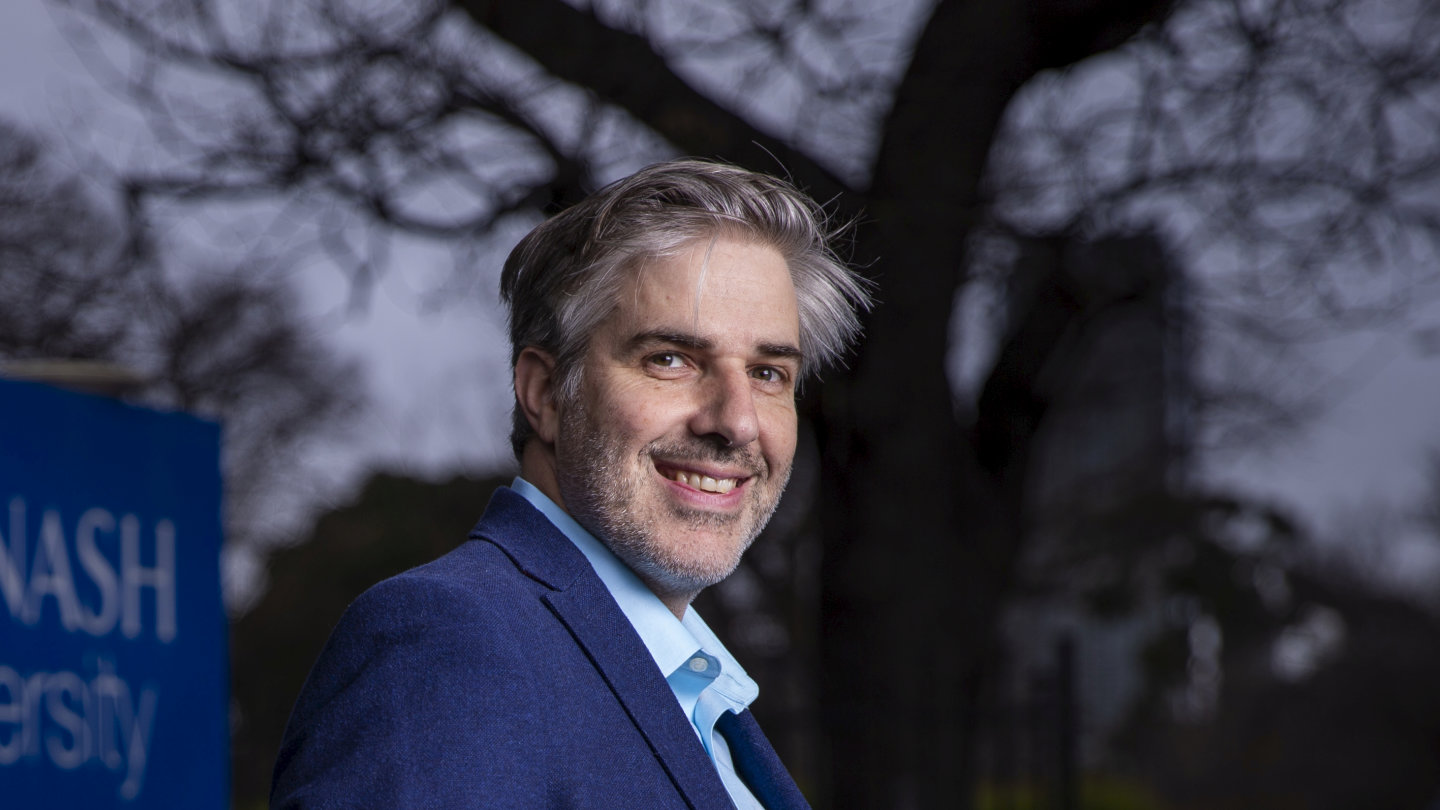 """Dr Andreas Fouras, 4DMedical says: """"I started off with the typical view that exists in uni: I would stay a successful academic and the uni would spin off the tech."""""""