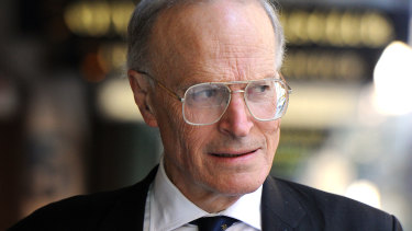 Former High Court judge Dyson Heydon.