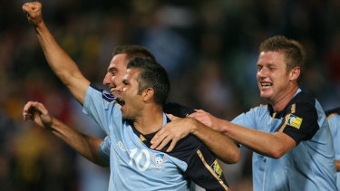 Star to coach: Steve Corica has been with Sydney FC since the club's inception.