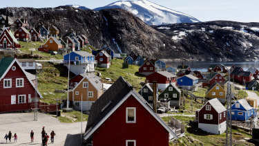 Upernavik in western Greenland.