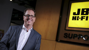 JB Hi-Fi CEO Richard Murray said tax cuts for high-income earners will have a greater impact.