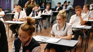Penola Catholic College HSC exams.
