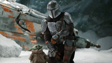 The Mandalorian scored a nomination in the best television drama series category.