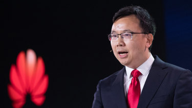 Yang Chaobin, president of 5G product line at Huawei Technologies.