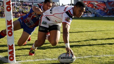 The Raiders want to minimise Warriors winger David Fusitu'a's opportunities.