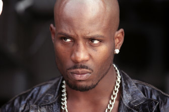 Rapper DMX, in a scene from Hollywood film Cradle 2 the Grave.