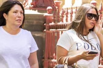 Roberta Williams and daughter Dhakota.