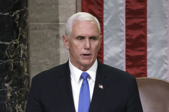 Staff at Simon & Schuster protested against a deal the publisher made with former vice-president Mike Pence.