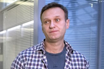 Russian opposition leader Alexei Navalny, pictured in 2019.