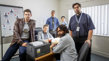 The cast of KGB, set in Perth's northern suburbs of Koondoola, Girrawheen and Balga.