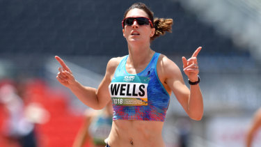 Lauren Wells is all but done in international competition.