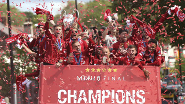 Luke Shaw admits Liverpool's Champions League triumph was hard to watch.