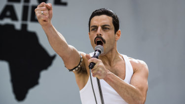 Rami Malek's performance in Bohemian Rhapsody emerged mid-way through awards season as a favourite.