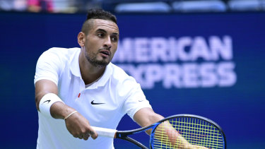 Nick Kyrgios is a huge hit with tennis audiences.