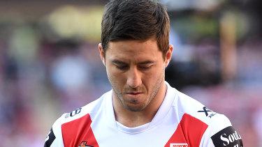 Spotlight: Dragons halfback Ben Hunt sought help for the torrent of criticism he has endured.