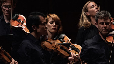 Scenes from 'Tognetti's Beethoven', performed by the Australian Chamber Orchestra in Canberra on November 10.