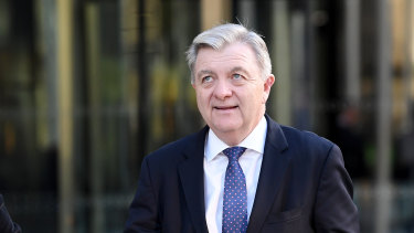 AMP's Anthony 'Jack' Regan admitted the company had misled the regulator.