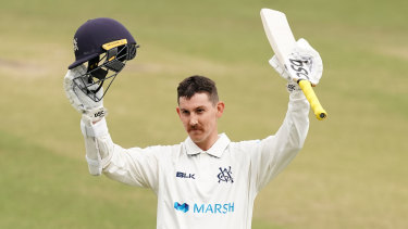 Nic Maddinson kicked off the Sheffield Shield season with a bang.