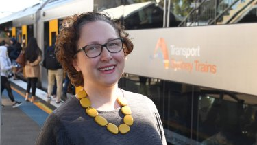 Strathfield resident Michelle Stanhope says crowding has worsened on trains due to population growth.
