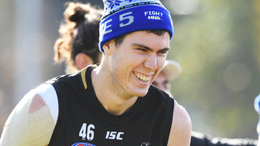Collingwood's big Texan Mason Cox has had the biggest impact of any American who has tried to play AFL.