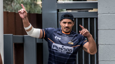 Time to shine: Pete Samu gets his first Brumbies start for Hurricanes clash.