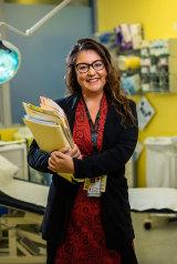 Westmead Children's Hospital Dermatlogy Registrar Dr Dana Slape.