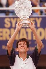 Tim Henman wins the Sydney International in 1997 at White City.
