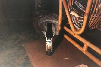 Oil found in the home of Gregory Richard Douglas during a police search.